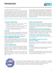 Introduction & Technical Specifications - AVX