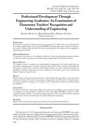 An Examination of Elementary Teachers - Gifted Education ...