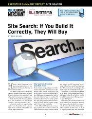 Site Search - Multichannel Merchant