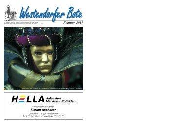 Westendorfer Bote Ausgabe Februar 2011 - Brixental