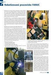 Robotizované pracovisko FANUC - ATP Journal