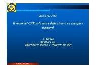 G. Bertoli, Direttore del Dipartimento Energia e ... - H2Roma.org