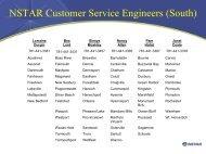 NSTAR Customer Service Engineers (South)