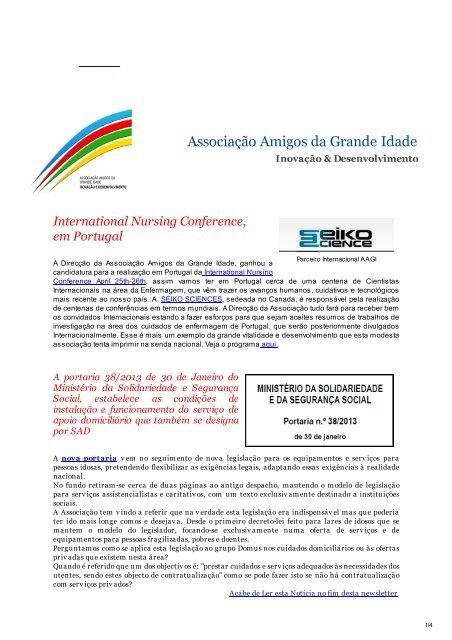 Nº 22 – Fevereiro 2013 - AAGI-ID Associação Amigos da Grande ...