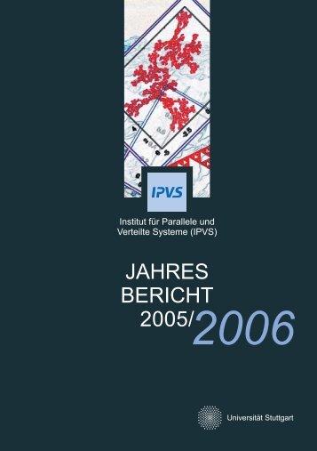 2006 - Institut für Parallele und Verteilte Systeme - Universität Stuttgart