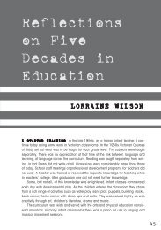 Reflections on Five Decades in Education - Australian Education ...