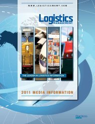 2011 Media Kit - Logistics Management