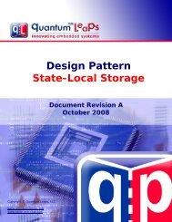 Design Pattern State-Local Storage - Quantum Leaps