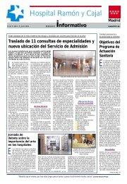 Hospital Ramón y Cajal - Ibanezyplaza.com