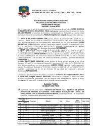 Relatório de Contratos 02/2010 - AMMOC