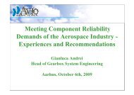 Meeting Component Reliability Demands of the Aerospace Industry ...