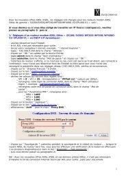 25/03/2004-v5 Avec les nouvelles offres ADSL d'AOL, les ... - Olitec