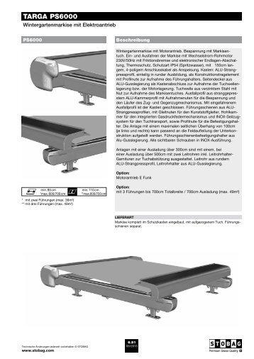 TARGA PS6000 - Schmid Storen AG