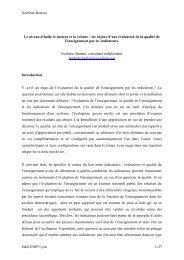 Norberto Bottani E&S,INRP Lyon 1-27 Le niveau d'huile, le moteur ...