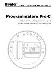 Programmatore Pro-C - Hunter Industries
