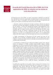 Acuerdo del Comité Ejecutivo de la CNMV, de 22 de septiembre de ...