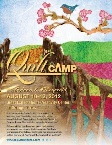 AUGUST 10-12, 2012 with Gyleen X. Fitzgerald
