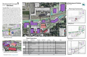 3M Redevelopment Concept Summaries