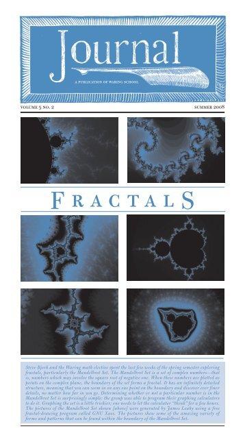 Fractals - Waring School