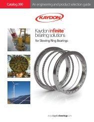 Catalog 390 - Kaydon Bearings