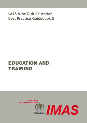 1. Education and training - United Nations Mine Action Centre