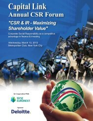 Capital Link Forum