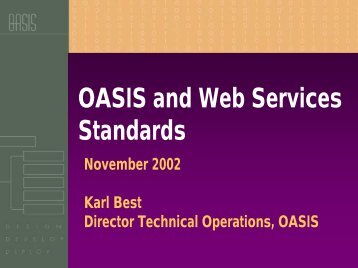 Web Services - A Market Overview - Oasis-pki.org