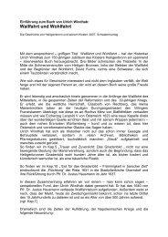 zur Vorstellung des Buches - Kloster-Heiligenbronn.de