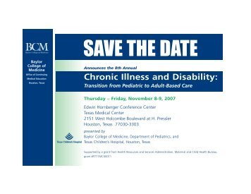 Chronic Illness and Disability - CME Activities