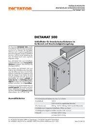 DICTAMAT 500 - Dictator