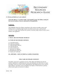 Secondary Sources Research Guide - Syracuse University College ...