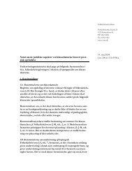 14. maj 2004 J.nr. 2004-1130-9998.a Notat om de juridiske aspekter ...