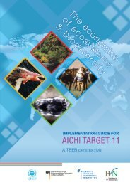 TEEB Implementation Guide for Aichi Target 11 - Convention on ...