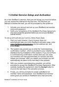 SE Satellite Modem User Guide - v.1.0 - StarBand Installation - Page 6
