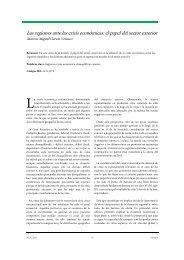 Las regiones ante las crisis económicas: el papel del ... - extoikos