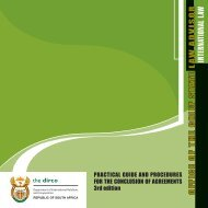 Practical Guide and Procedures for the Conclusion of Agreements