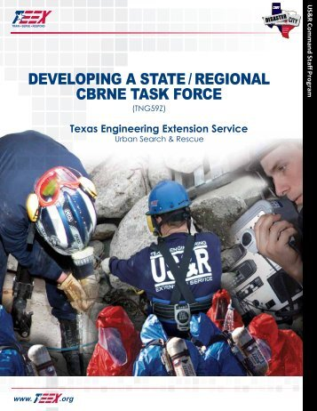 developing a state / regional cbrne task force - Texas Engineering ...