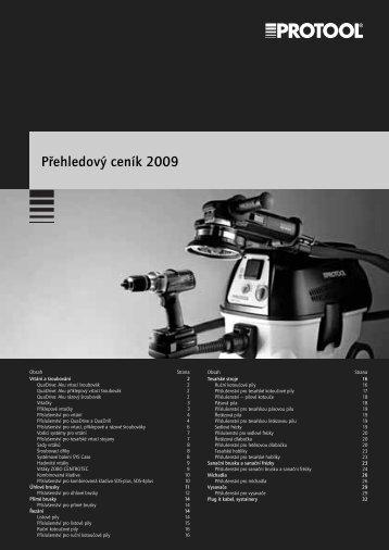 Ceník 2009 - Pronkovo, sro