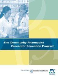 Community Pharmacist Preceptor Education Program - Library