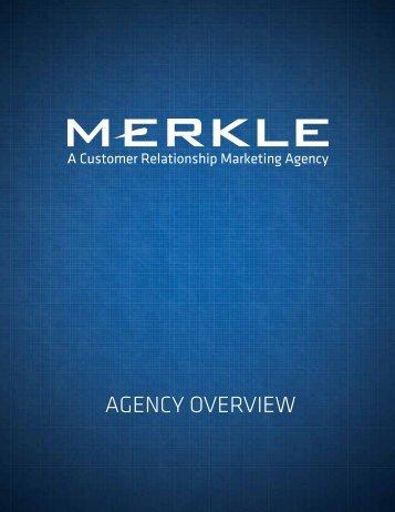 AGENCY OVERVIEW - Merkle