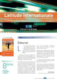 Latitude Internationale n°14 - CIC