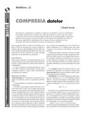 (1) COMPRESIA datelor - GInfo
