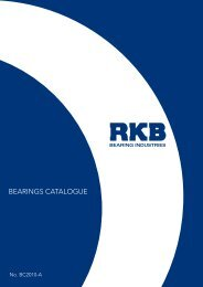 bEaRINGS CaTaLOGUE