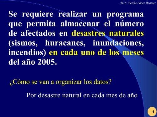 MC Bertha López Azamar - UNPA