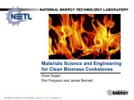 Materials Science and Engineering for Clean Biomass Cookstoves