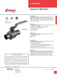 S-100-SS-N System-4® Ball Valve