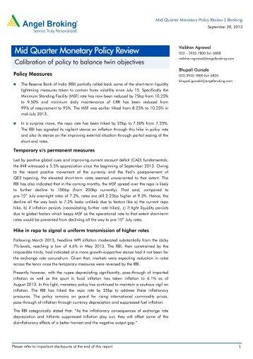 Angel Backoffice Danmarks Nationalbank Monetary Review 4th Quarter