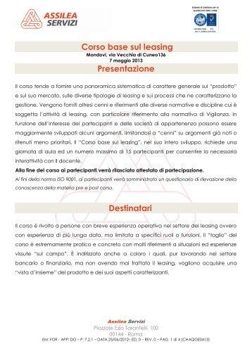 Visualizza - Assilea
