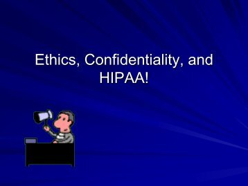 Go Ahead, Just Ask Your Questions About Confidentiality, Ethics ...