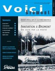 VOICI Septembre 2002 (Page 2) - Ville de Bromont